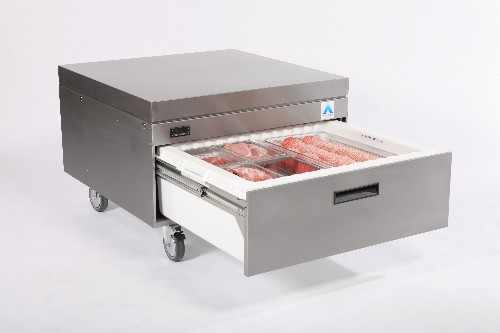 Adande Refrigerated Cool Base Cookline with High Castors VCR1/HCW